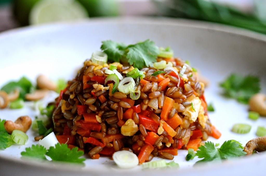 Fried rye er en nordisk udgave af fried rice