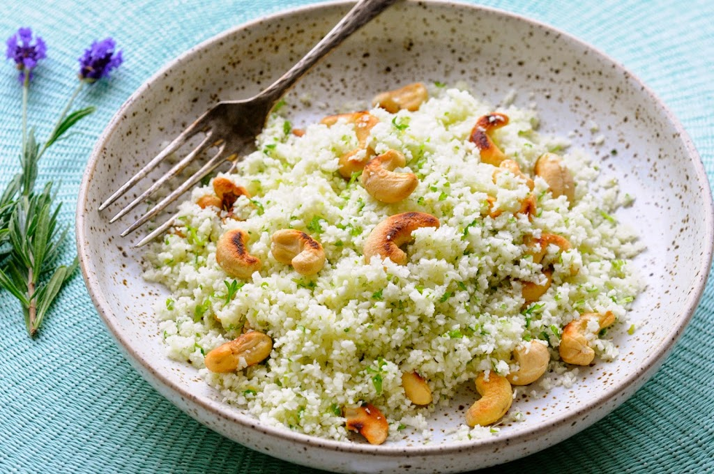 blomkåls-couscous med koriander