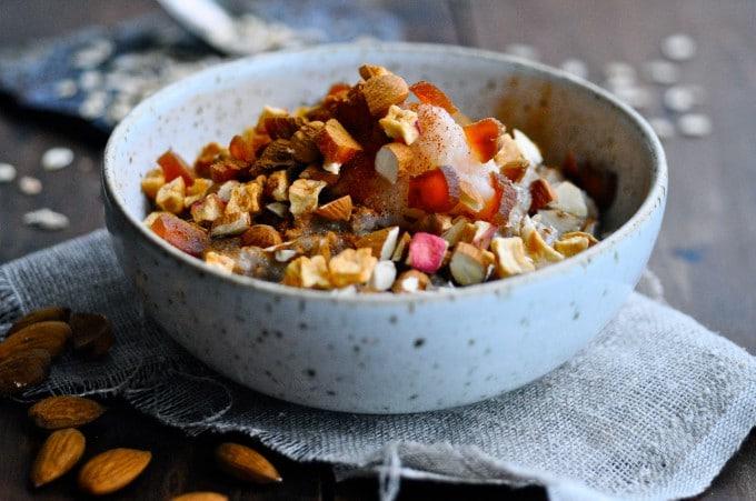 Ruggrød med æblekompot | www.juliekarla.dk