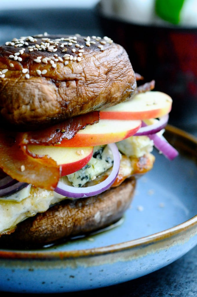 Portobello burger | www.juliekarla.dk
