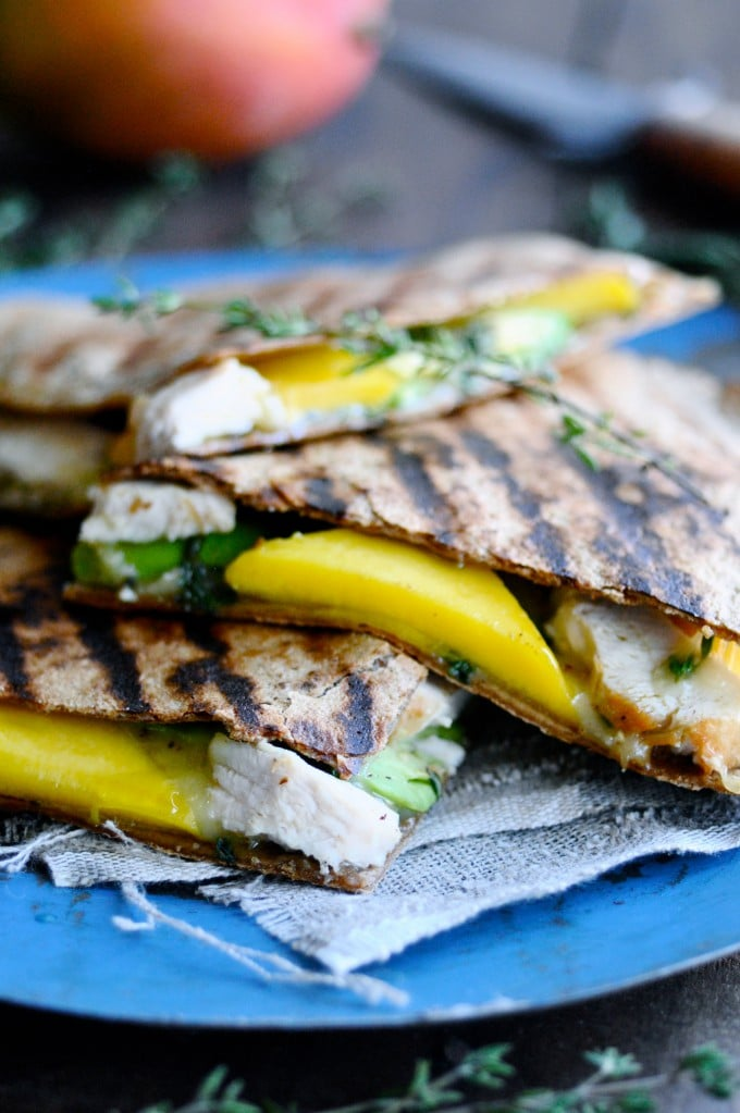 quesadilla med kylling og avocado | www.juliekarla.dk