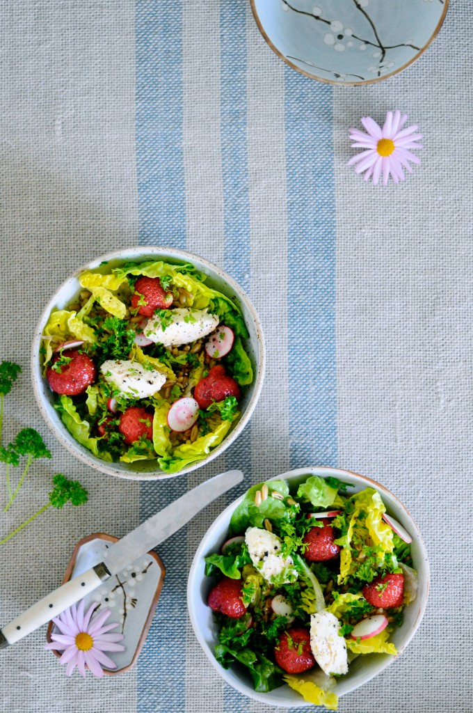 Hurtig salat til grill fra www.juliekarla.dk