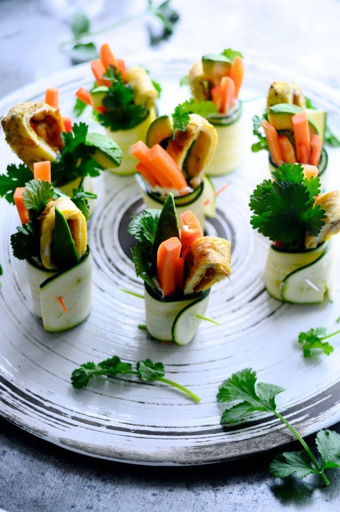 Grønne appetizers | www.juliekarla.dk