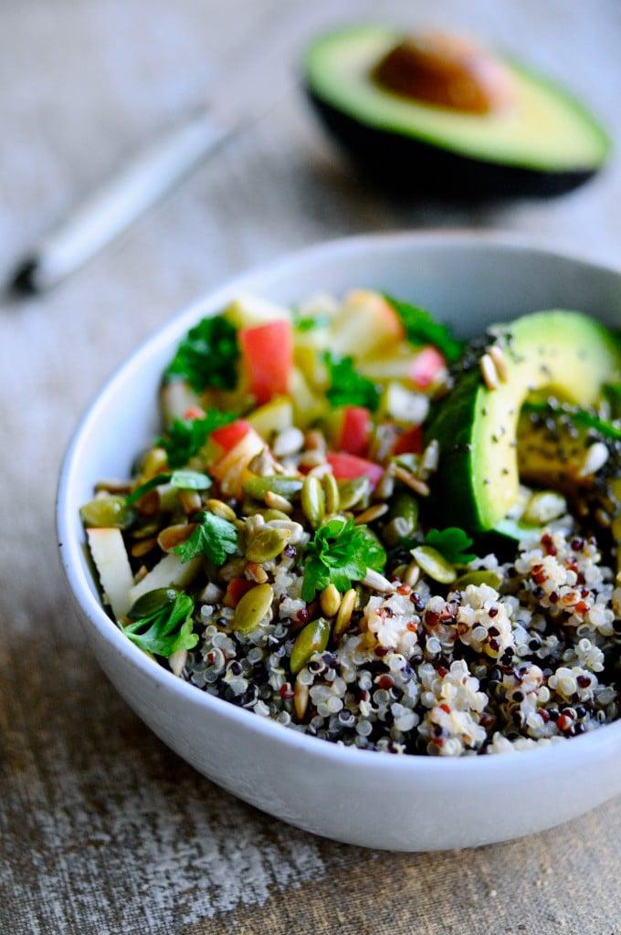 Nem frokost salat med quinoa   www.juliekarla.dk