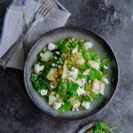 Salat med melon og bulgur