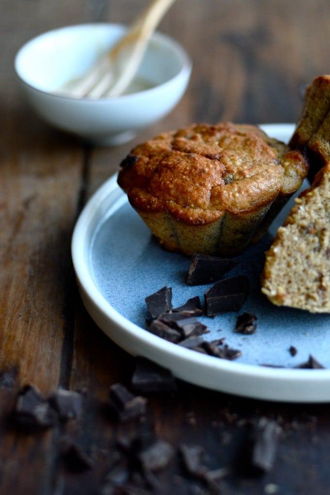 Sunde bananmuffins og andre sunde bageopskrifter