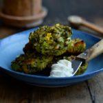 Bagte broccolifrikadeller med quinoa