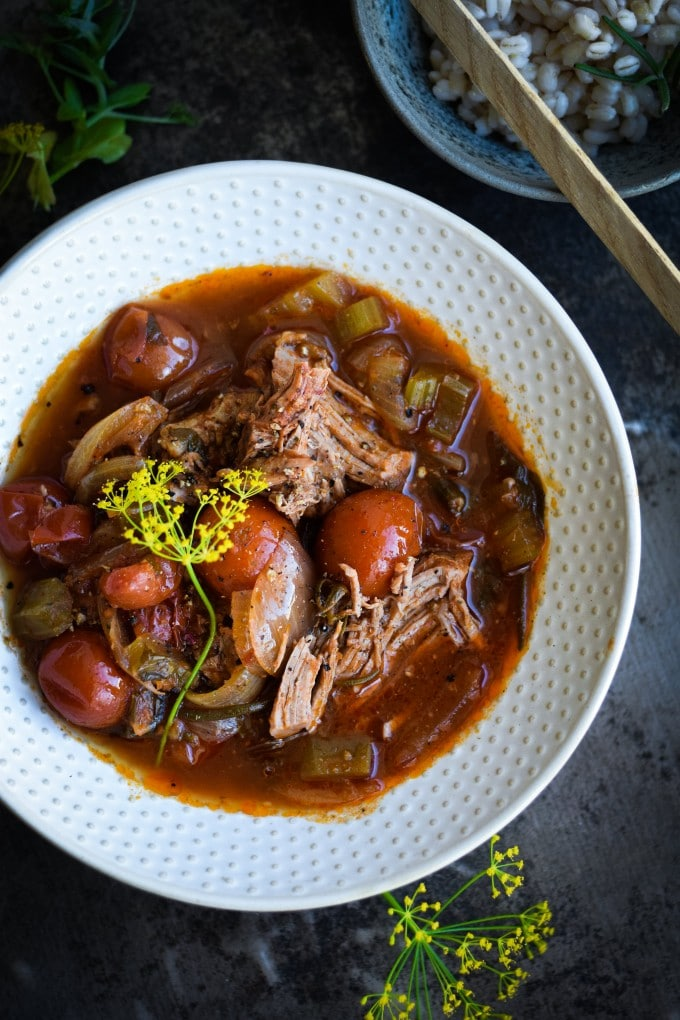 Crockpot slow cooker opskrifter med lam