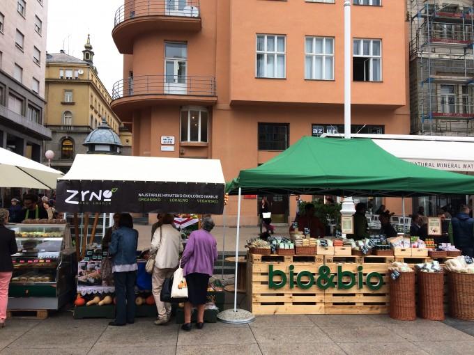 guide til Zagreb marked