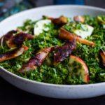Salat med fattigmandsasparges