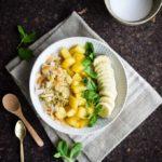Tropisk quinoa bowl