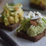 Vegetar smørrebrød