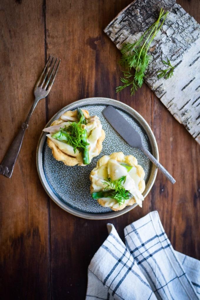 opskrift på Høns i asparges