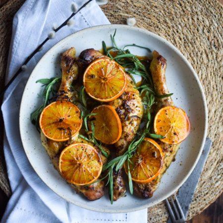Den bedste marinade til kylling med appelsin og rosmarin