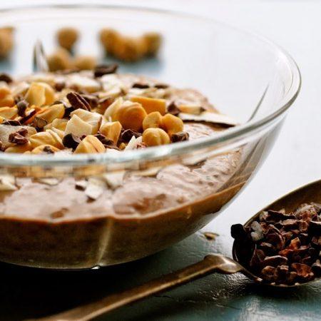 Chiagrød med kakao